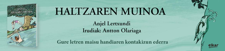 Anjel  Lertxundi  –  Haltzaren  muinoa