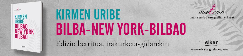 Kirmen  Uribe  Bilbao-New  York  Bilbao